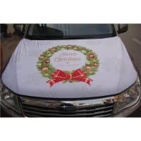 Engine Hood Cover - Christmas