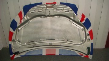 Engine Hood Cover -back view (2)