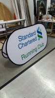 Pop Out A Frame Banner - Large size for Standard Chartered
