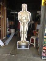 Oscar foamboard cutout