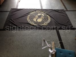 custom Fabric printing for flag
