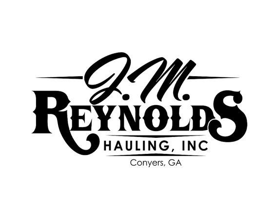 Trucking and hauling logo design, custom business logo