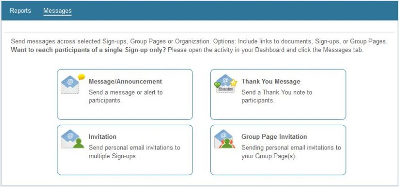 Follow The Steps In Message Wizard To Select Recipients Customize Your Then Preview And Send