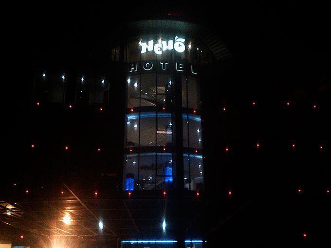 Объемные буквы отеля Немо