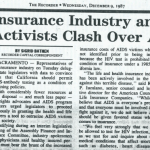 insurance industry and gay rights