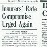 insurers rates comp