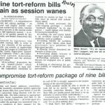 nine tort-reform bills