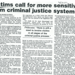 victims call for more sensitivity