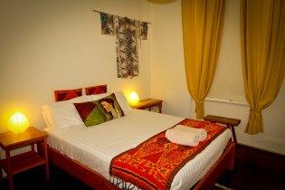 Third bedroom Artists' Residence Fremantle