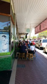 Whatley Crescent Café scene Maylands