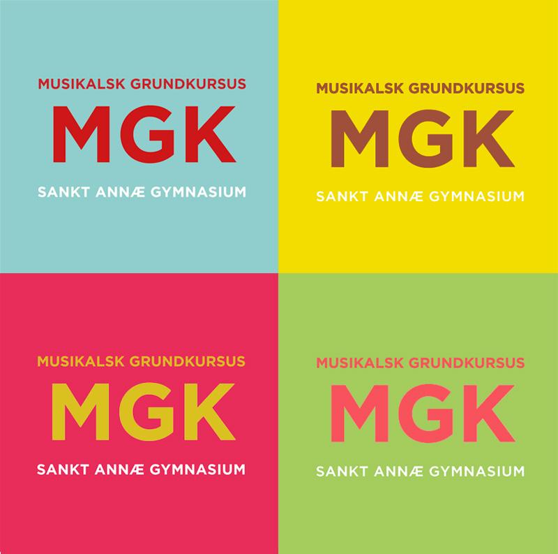 kampagne-logodesign for MGK Sankt Annæ 2017-2020 Sank