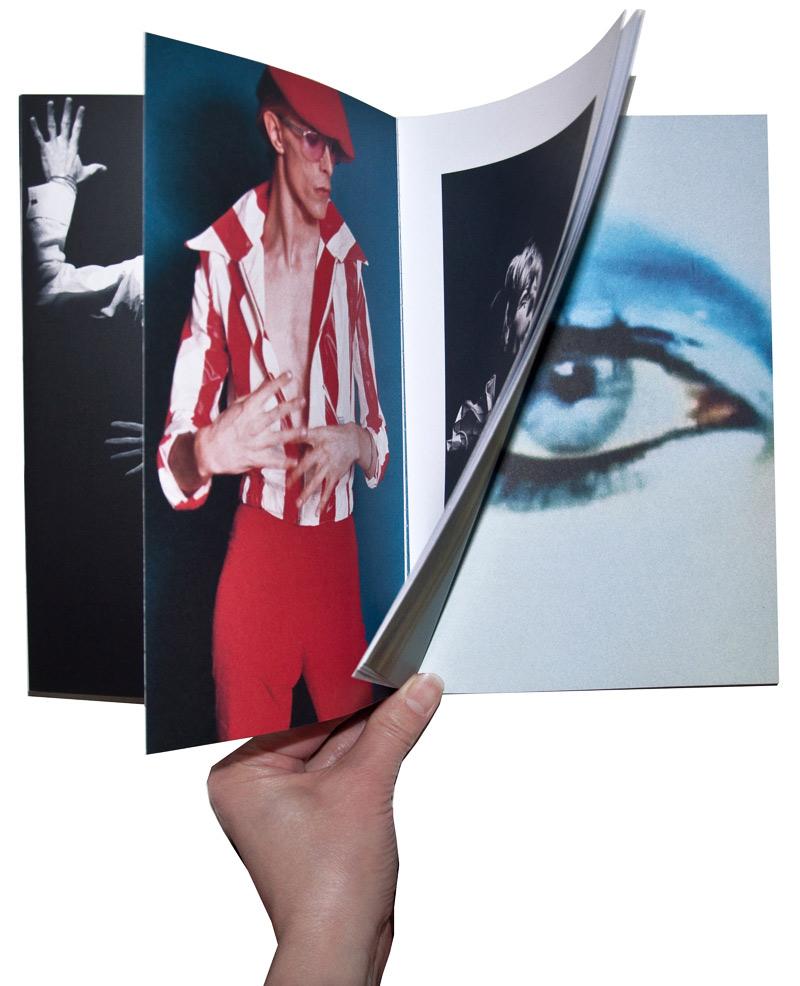 foto af David Bowie antologi - CHANGES desig Sigrun Gudbrandsdottir