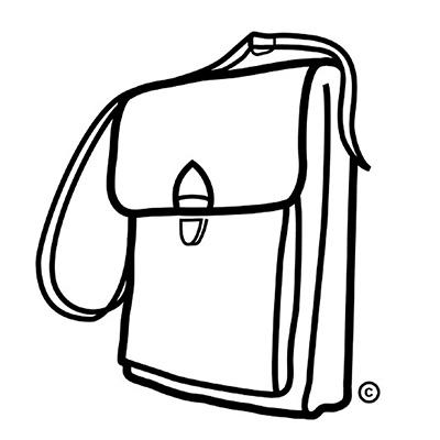 logo design & vignet for bag company, The last bag, Copenhagen