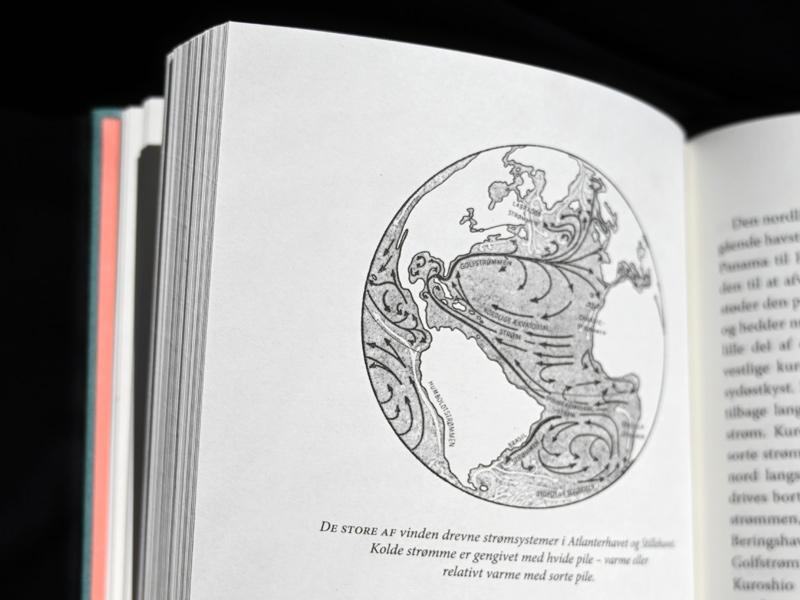 Rachel Carson The Sea Around Us - book design