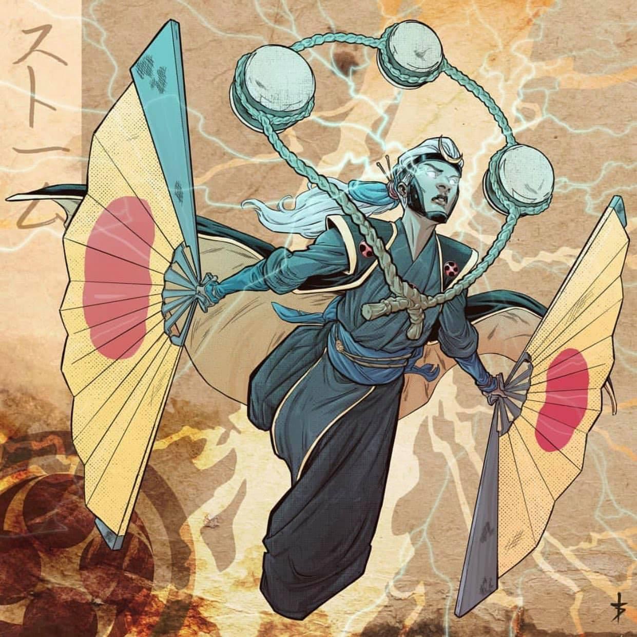 Tormenta Samurai