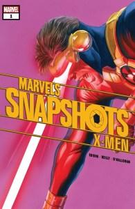 Portada Marvel Snapshots X-Men