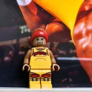 Cuadro minifigura Hulk Hogan