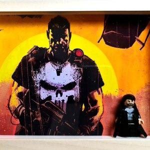 Cuadro minifigura The Punisher