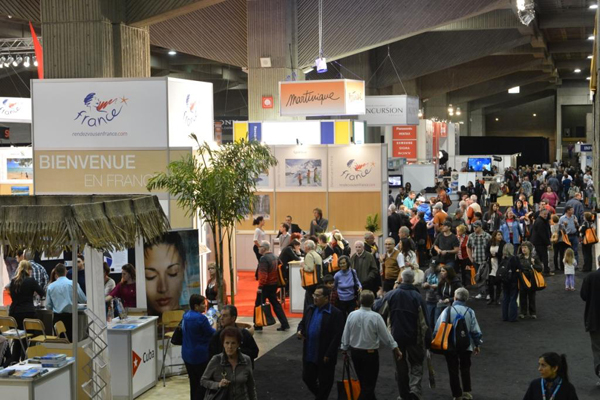 Salon International Tourisme Voyages  Mirtha Yepez