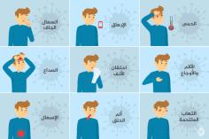 أبرز أعراض فيروس كورونا