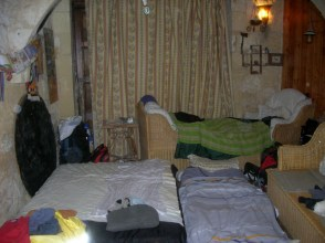 Our room at Marios