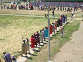 Nadaam women's archery competition, UB