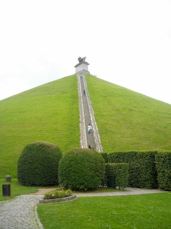 Waterloo monument, Belguim