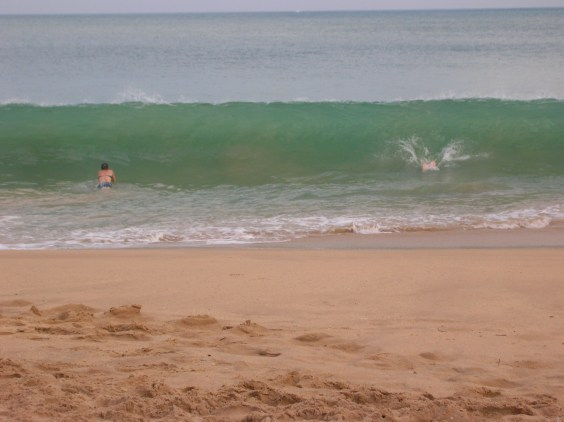 Warm swimming - Tangalle