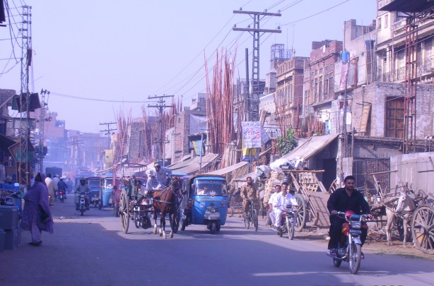 Lahore has a lot of exhaust