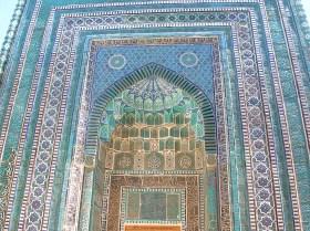 Amazing tile work - Samarkand