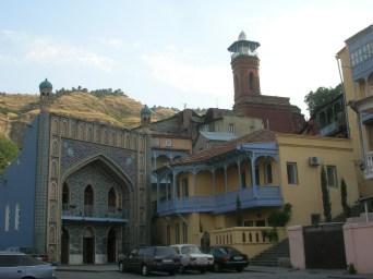 Turkish bath and Sunni mosque in Tbilisi