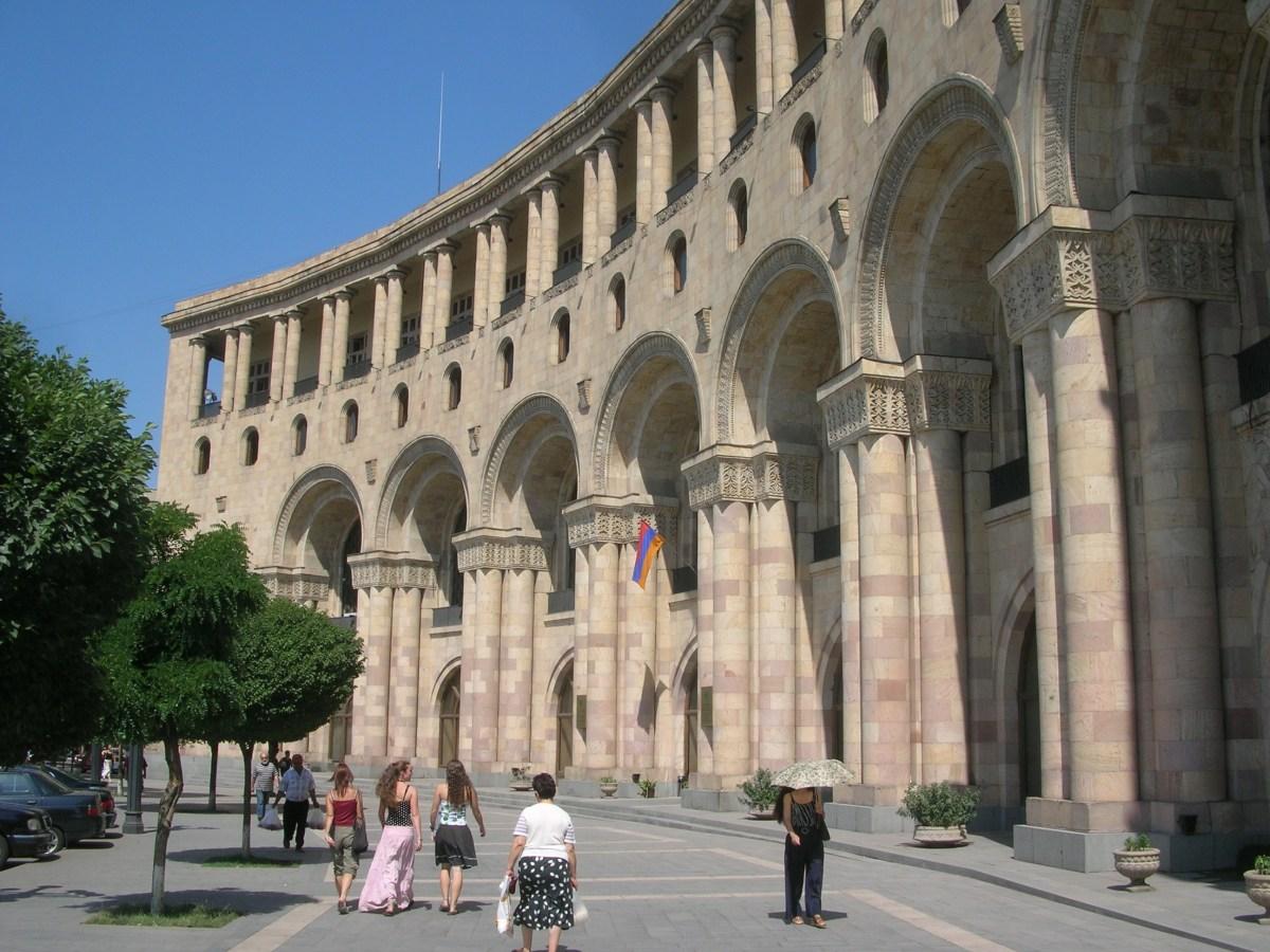 Walking the streets of Yerevan