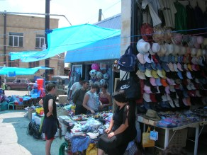 Street shopping, Armenia