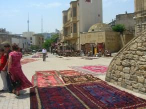 Old town area Baku, Azerbaijan