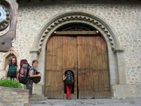 caravanserai entrance, Azerbaijan