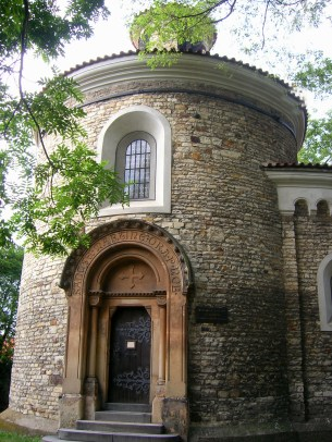Oldest Rotunda of St. Martin from 11th century.