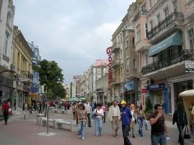 Strolling the streets of Sofia, Bulgaria