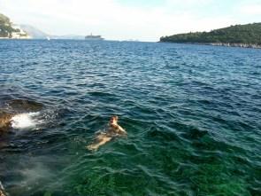 Got to swim in all the Seas
