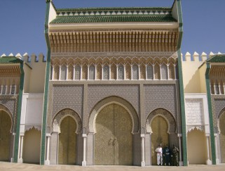 Royal palace gates, Fez, Morocco