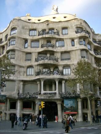 Gaudi design.