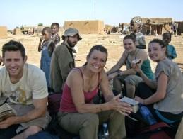 Waiting for the bus Mopti, Mali