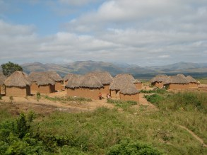 Angolan villages and views as we cross the country