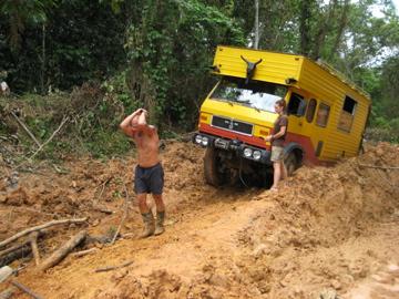 overlanding Cameroon