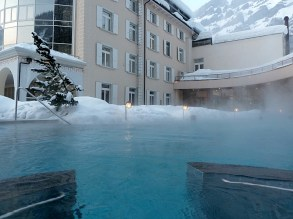 Out door hot springs