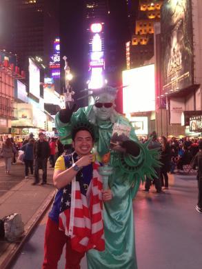 USA, Time Square