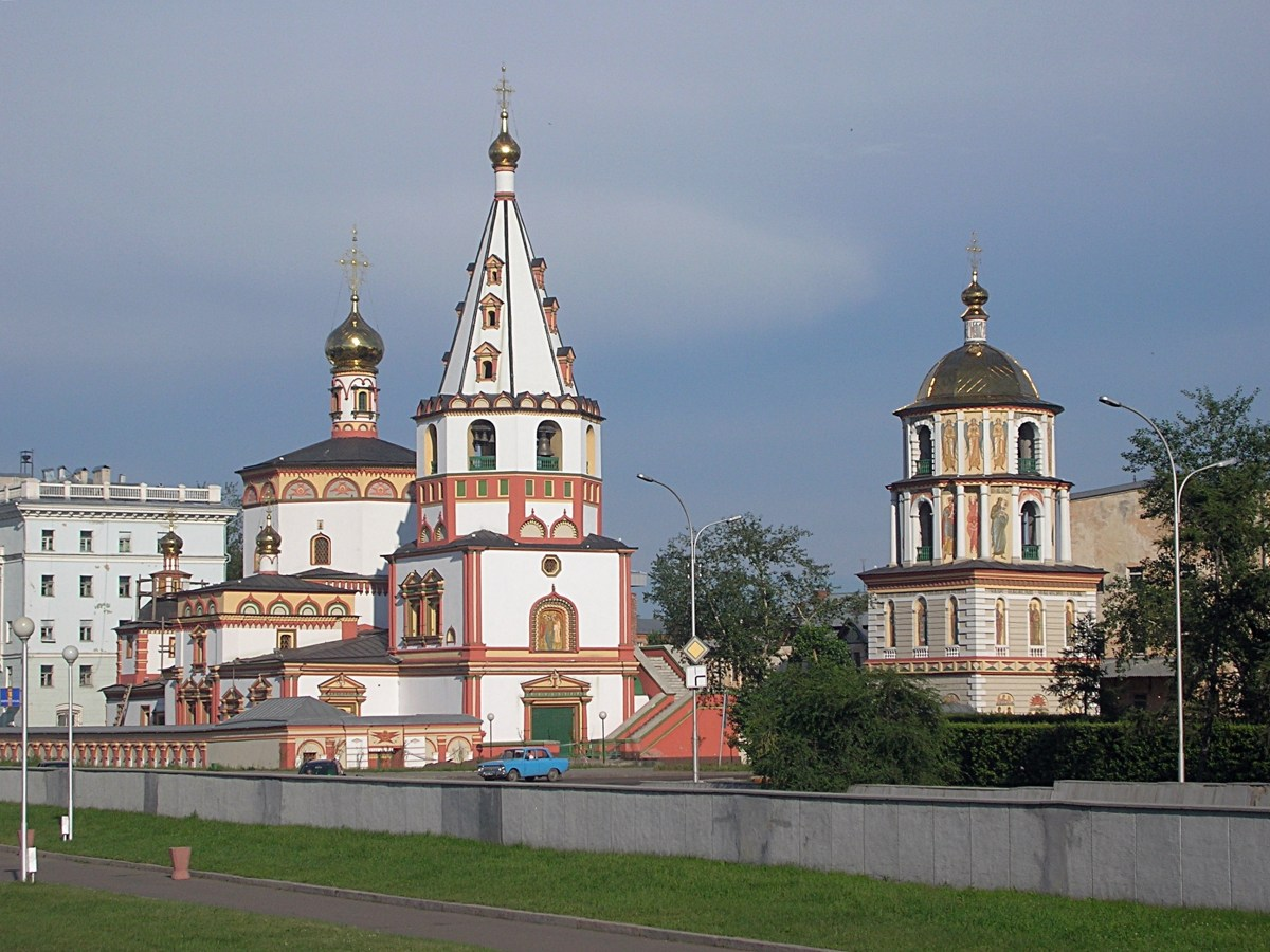 Irkutsk, Russia. Backpacks and Bra Straps ch 2
