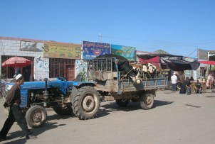 Market day in Kashgar, China