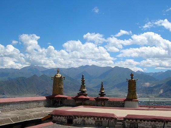 Drepung Monastery. Tibel. Bacipacks and Bra Straps