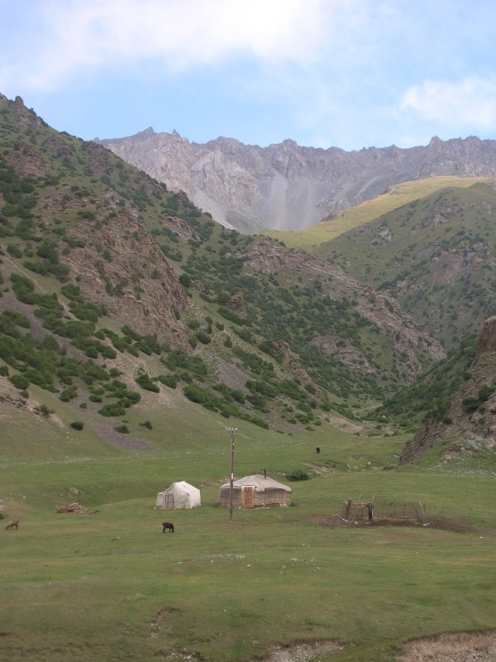 Kyrgyzstan. Backpacks and Bra Straps