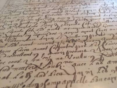 Villesiscle, France, old french documents